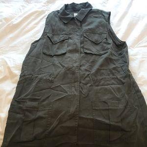 Military Green vest